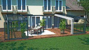 Terrasse Überdachung